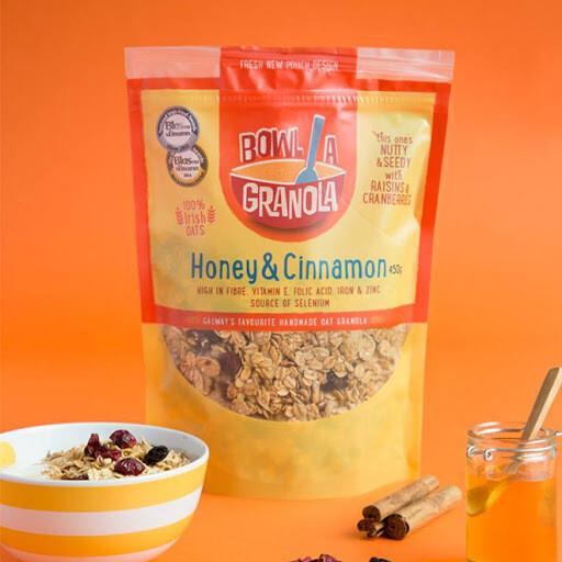 Bowl A Granola - Honey & Cinnamon