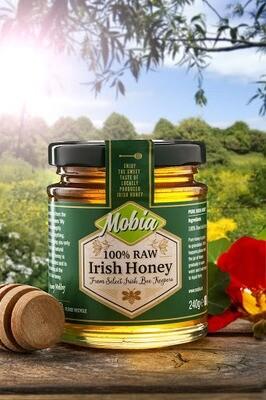 Mobia 100% Raw Irish Honey