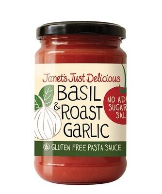 Janet's Basil & Roast Garlic Pasta Sauce