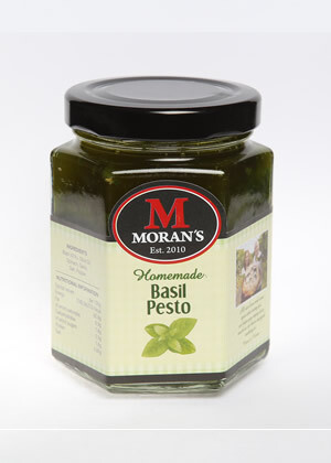 Morans Basil Pesto (Nut and Dairy Free)