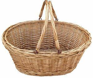 Wicker Shopping Basket (Hamper Upcharge)