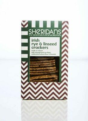 Sheridan's - Rye & Linseed Crackers