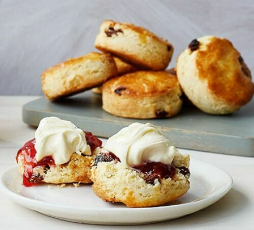 Gluten Free Fruit Scones (3 Pack, Frozen)