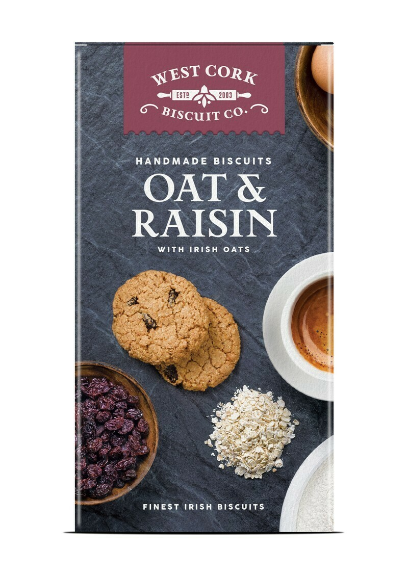 West Cork Oat & Raisin Biscuit