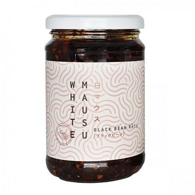 White Mausa Black Bean Rayu (Condiment / Sauce)