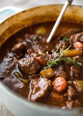 Benny's Beef & Guinness Stew (For 2)
