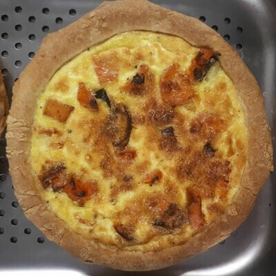 Benny's Roast Sweet Potato and Feta Quiche (For 4) Vegetarian