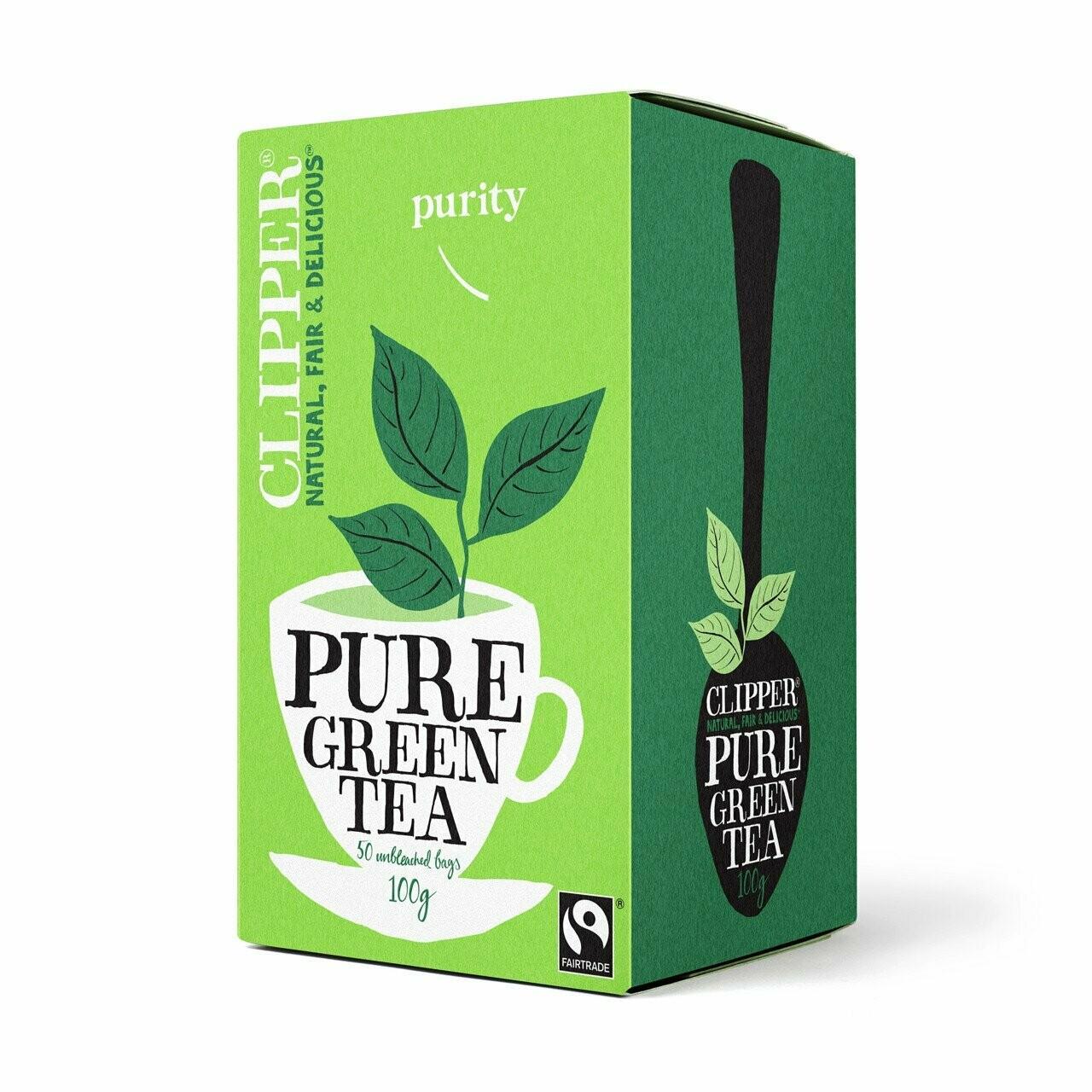 Clipper Pure Green Tea (50 Bags)