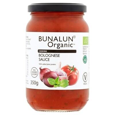 Bunalun Organic Bolognese Sauce (350ml)