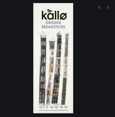Kallo Breadsticks Box