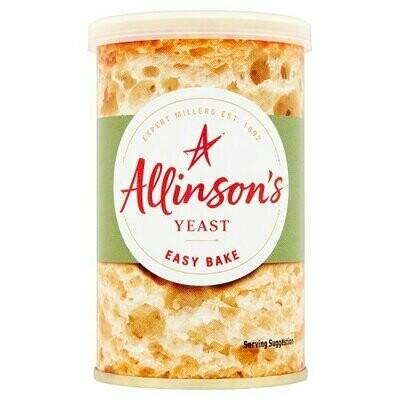 Allison's Easy Bake Yeast