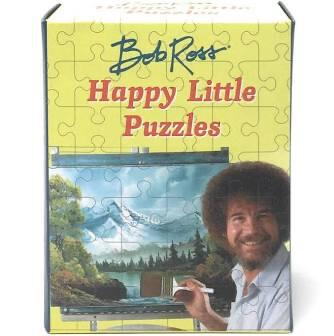 Bob Ross Happy Little Puzzles Mini Edition