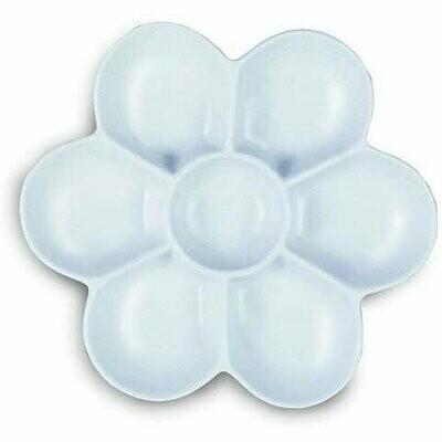 FLORAL SHAPE PLASTIC DISH