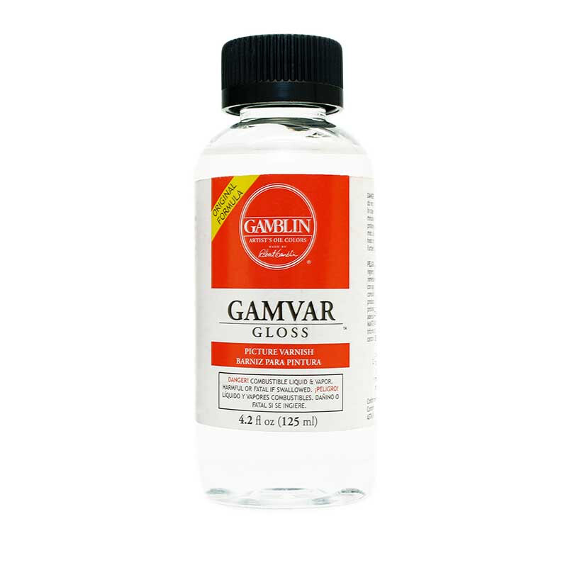 GAMVAR PICTURE VARNISH 4 OZ