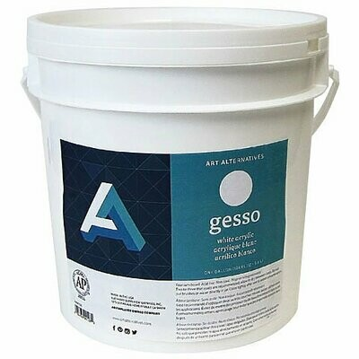 ART ALTERNATIVES GESSO WHITE ONE GALLON