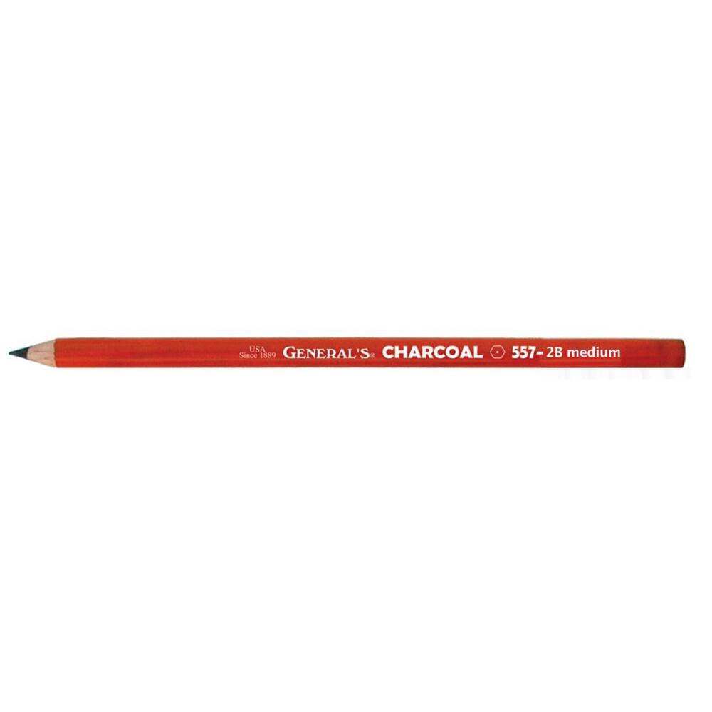 General's Charcoal Pencils, 2B