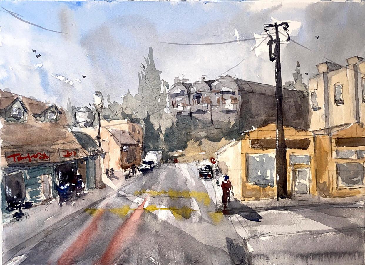 Urban Sketching, September 1st