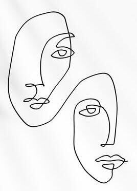Abstract Ink: Continuous Line Drawing, September 20th