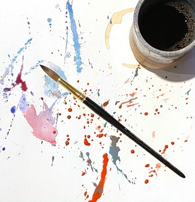 Morning Brew and Brush: August 23rd