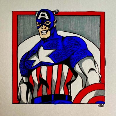 Comic Drawing: Superheroes, November 8th