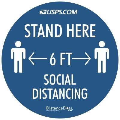 US Postal Service Distance Dots™ - 12