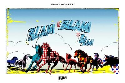 Ghost Mountain Field 鬼山田 – Eight Horses (Blam Blam Blam)