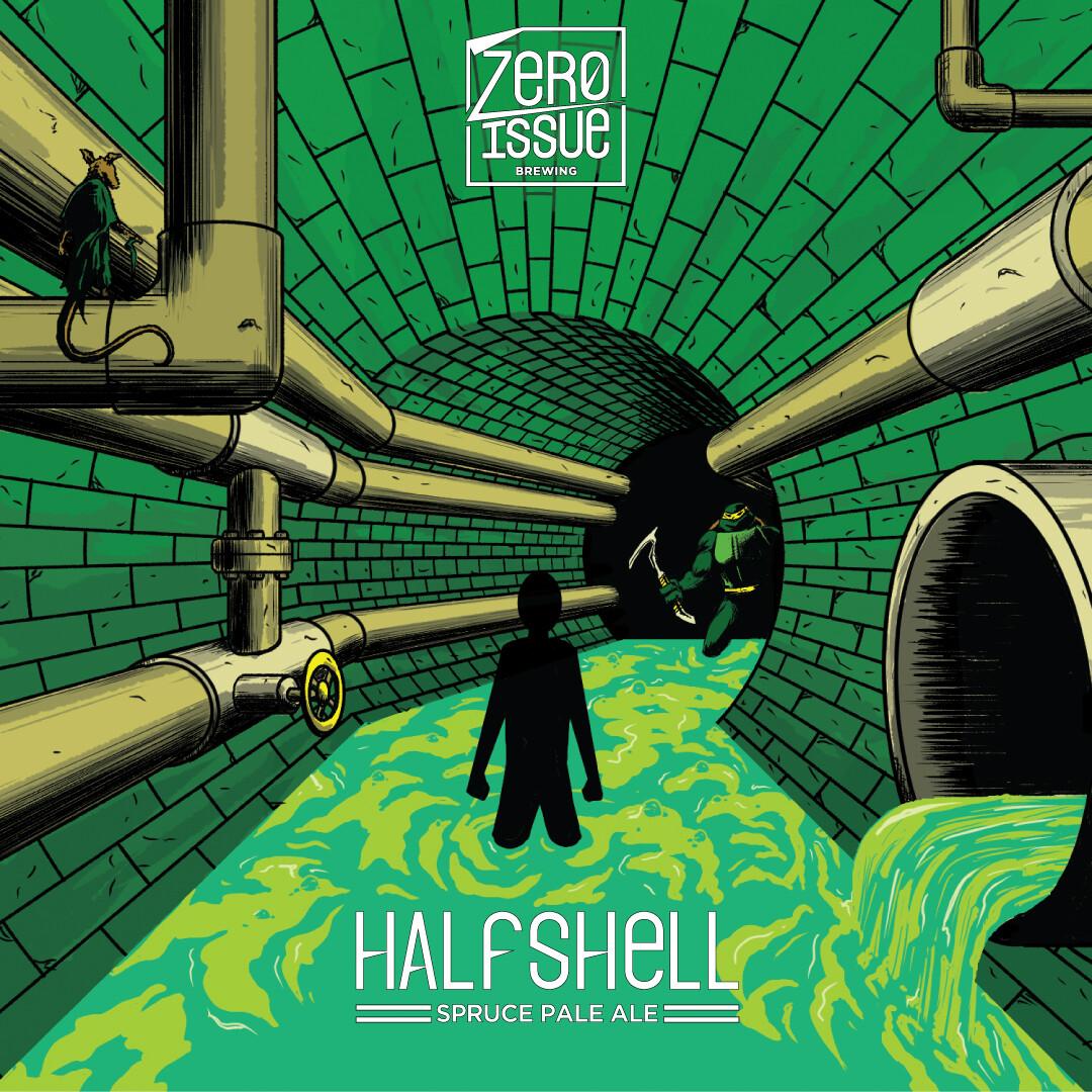 Halfshell Spruce Tip Ale