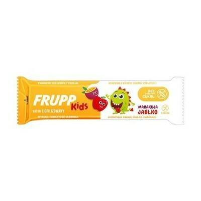 Liofilizuotų obuolių ir pasiflorų vaisių batonėlis, 10g