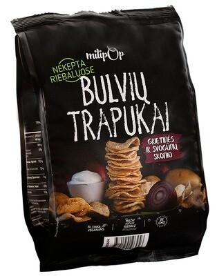 Bulvių trapukai grietinės ir svogūnų skonio MILIPOP, 90g