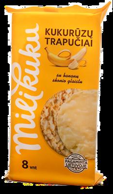 Kukurūzų tr. su bananiniu glaistu MILIKUKU, 95g