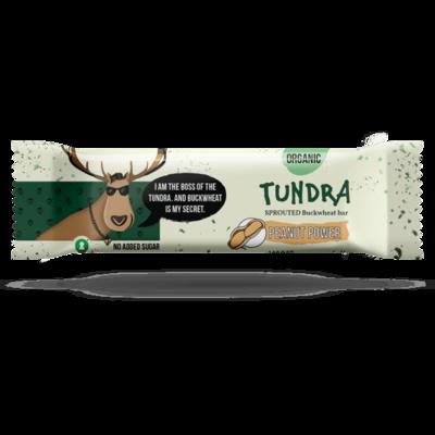 Ekologiškas daigintų grikių batonėlis TUNDRA su žemės riešutais, 40 g