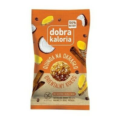 Cinamono ir kokoso skonio saldainiai (be gliuteno ir pieno), 24g