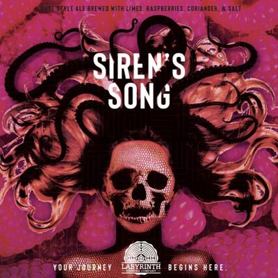 Sirens Song Raspberry 4-pack