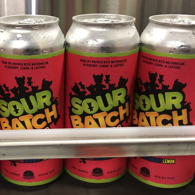 Sour Batch Watermelon Blueberry  4pack