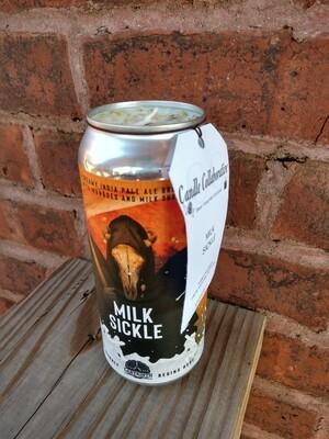 Milk Sickle Candle