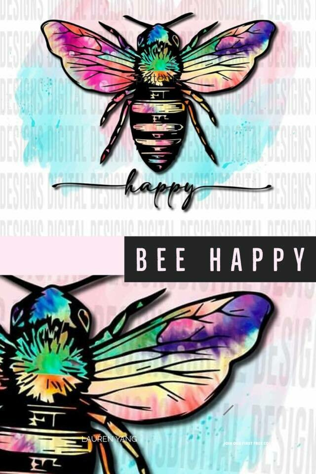 Bee - Tie Dye Wings - Many options