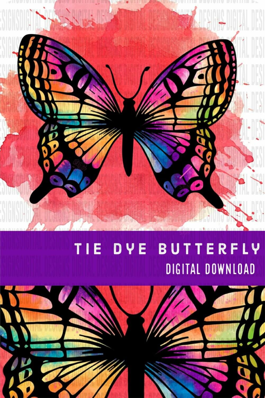 Butterfly - Tie Dye Wings