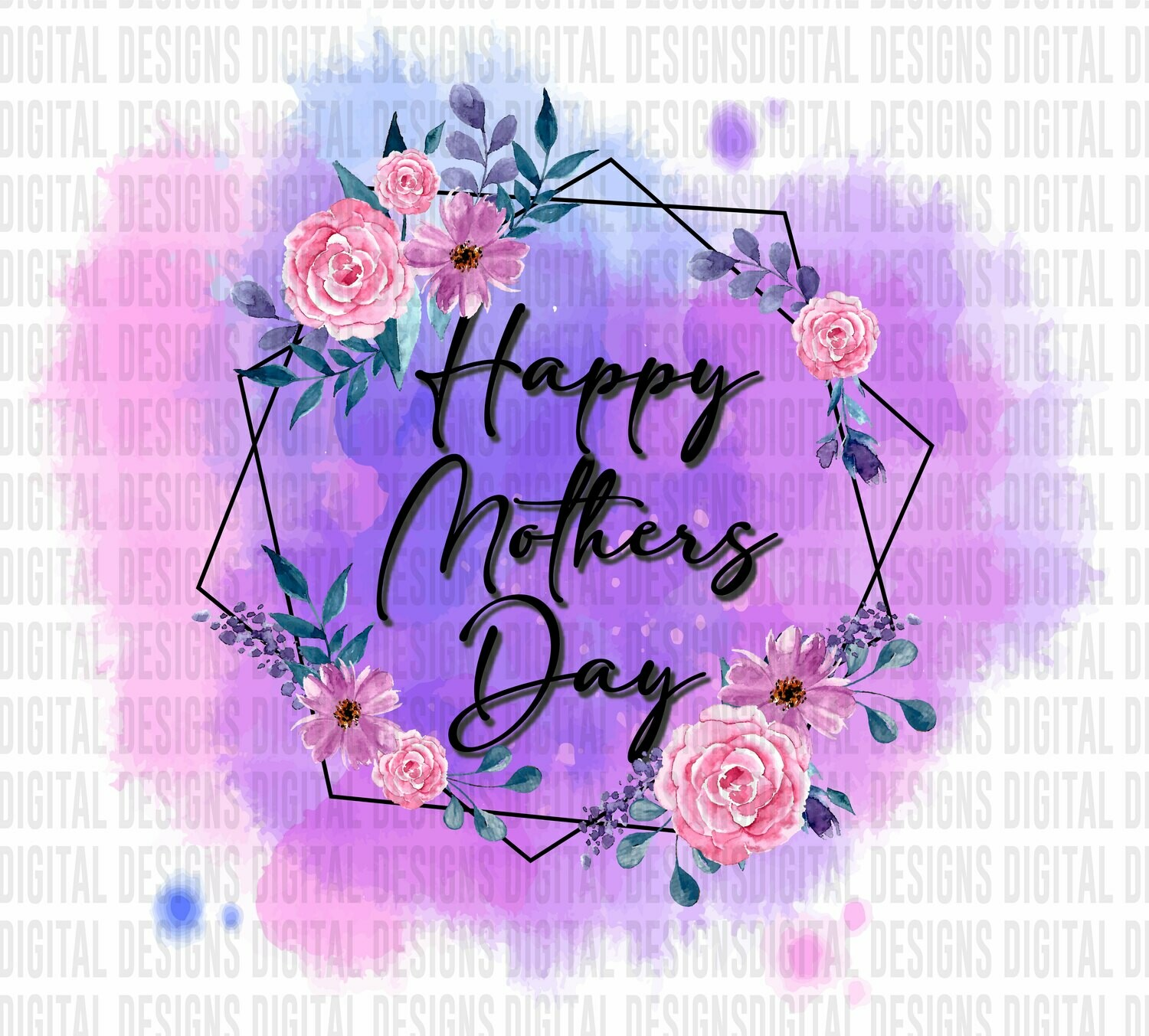 Happy Mothers Day - PNG SUBLIMATION