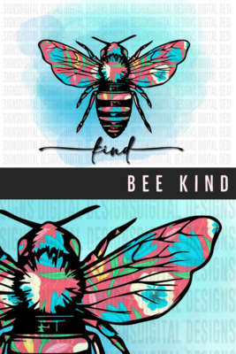 Bee - Flower Wings - Many options - PNG Sublimation