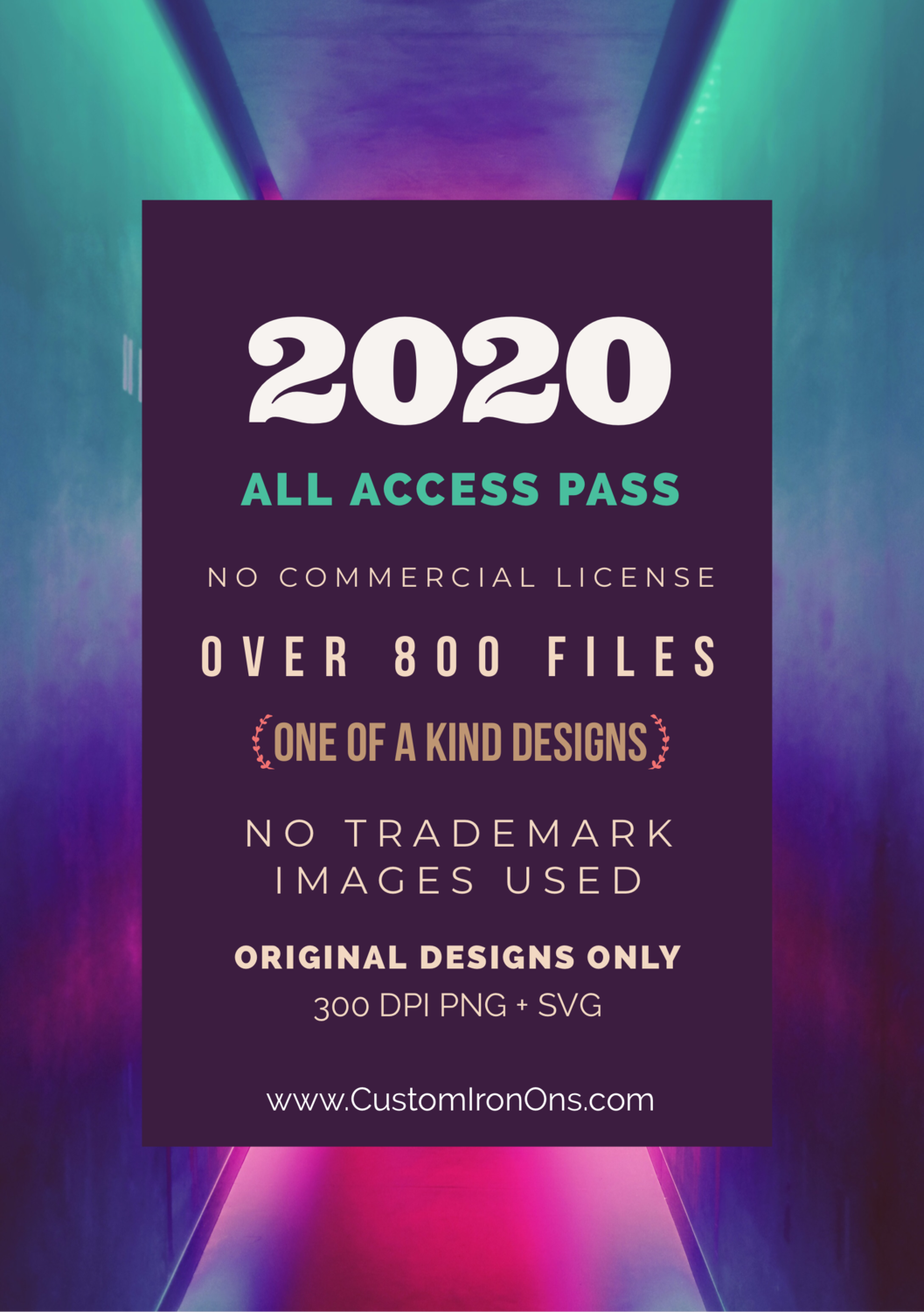 2020 ALL ACCESS PASS - YEARLY
