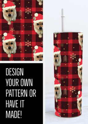 Upload  your photo for a custom digital design OR Download the files and create it yourself!
