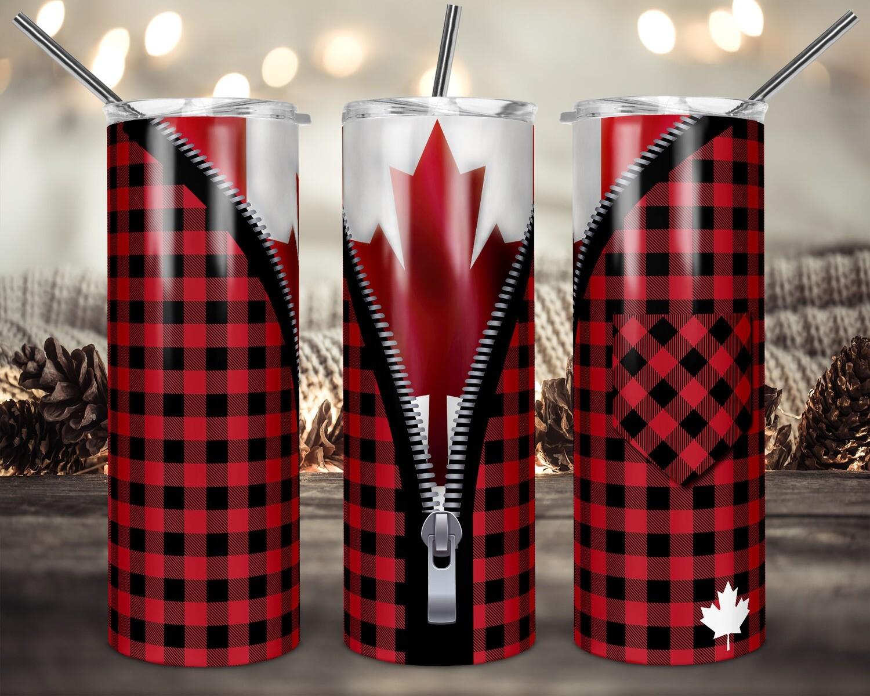 Oh Canada   - 20oz & 30oz Skinny TUMBLER PNG Sublimation