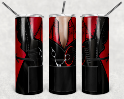 EXCLUSIVE - Set of 16- Hair Dresser Skinny/Straight TUMBLER PNG Sublimation