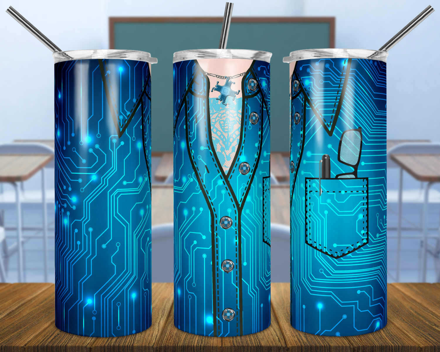 """EXCLUSIVE - FEMALE Set of 13- TEACHER Skinny/Straight TUMBLER PNG Sublimation with BONUS set of 7 """"HELLO MY NAME IS"""""""