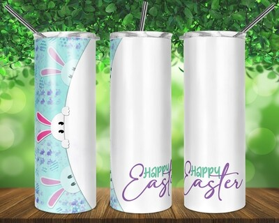 Easter Peek A Boo -   20/30oz Taper + STRAIGHT TUMBLER PNG Sublimation