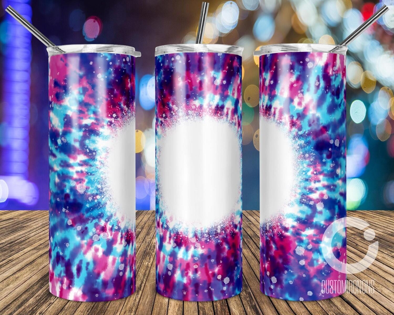 Bleach Tie Dye Purple Blue  sublimation design - Sublimation design - Sublimation - DTG printing - Sublimation design download - Summer sublimation design