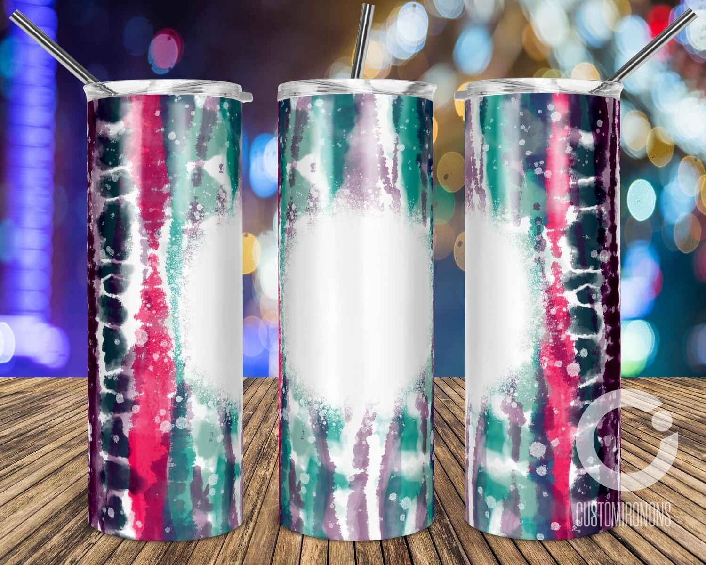 Bleach Tie Dye Stripes sublimation design - Sublimation design - Sublimation - DTG printing - Sublimation design download - Summer sublimation design