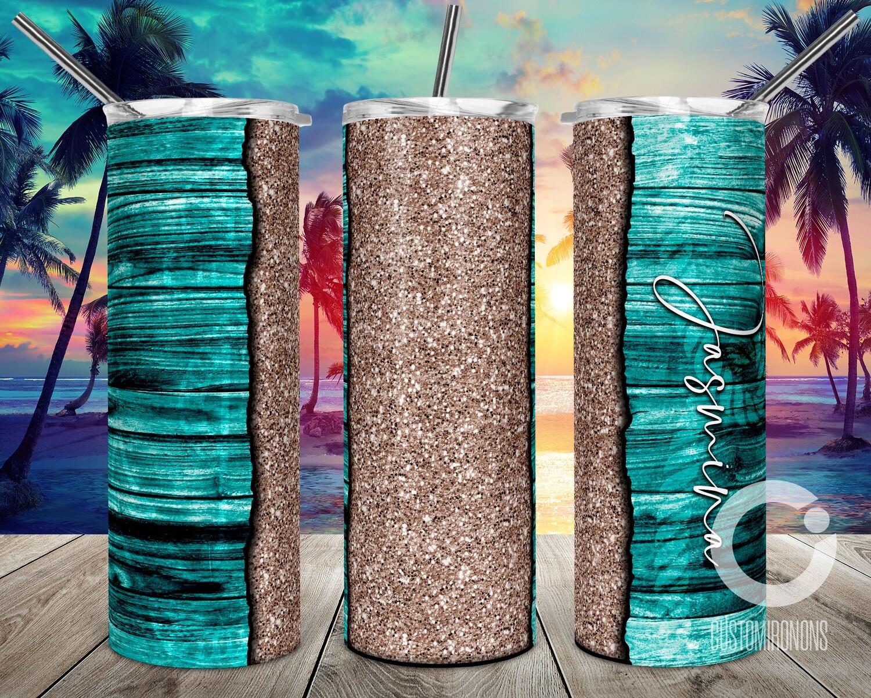 Teal Ocean Vibes sublimation design - Sublimation design - Sublimation - DTG printing - Sublimation design download - Summer sublimation design