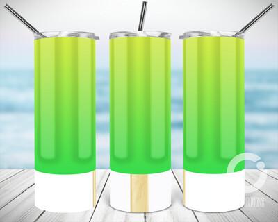 Green Popsicle - Sublimation design - Sublimation - DTG printing - Sublimation design download - Summer sublimation design
