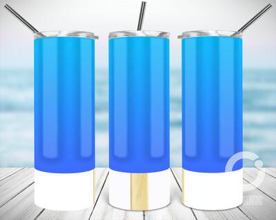Blue Popsicle - Sublimation design - Sublimation - DTG printing - Sublimation design download - Summer sublimation design